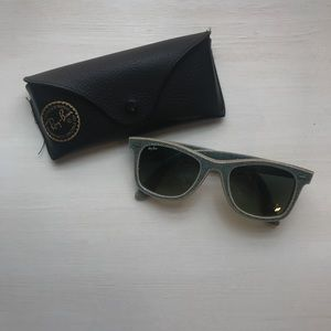 Ray Ban Light Blue Denim Wayfarer